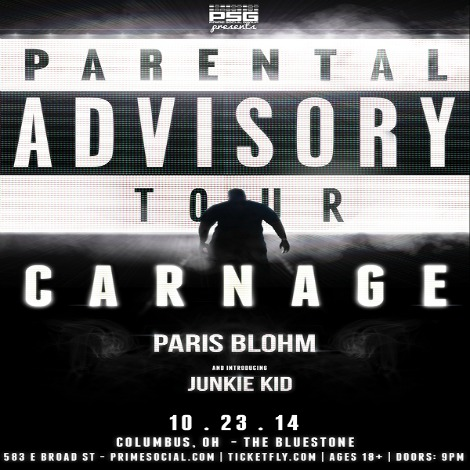PSG Presents: CARNAGE @ The Bluestone