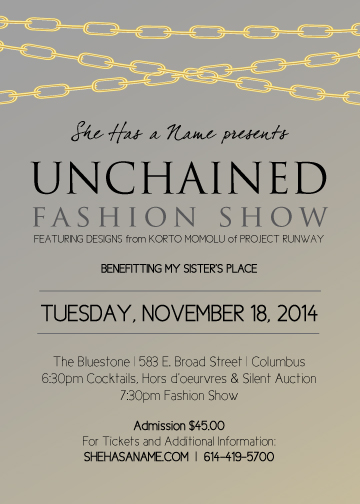 She Has a Name: Unchained Fashion Show