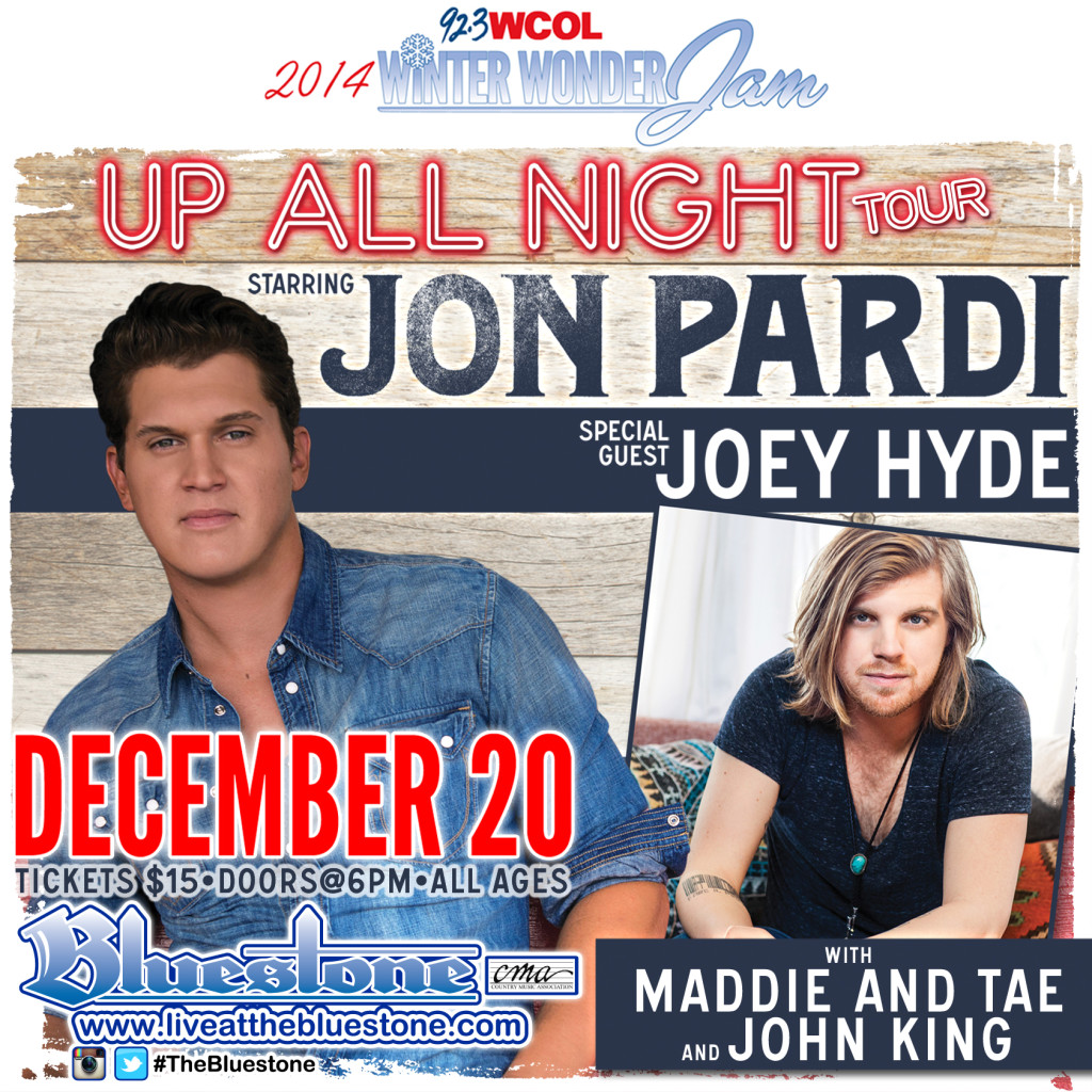 WCOL Winter Wonder Jam featuring: JON PARDI