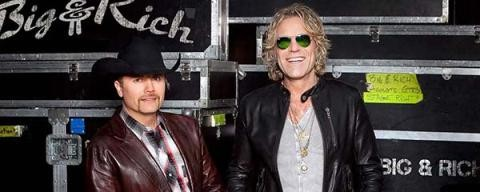 BIG AND RICH - WCOL Country Jam 2015 Featuring - ERIC CHURCH @ Legend Valley Music Center | Thornville | Ohio | United States