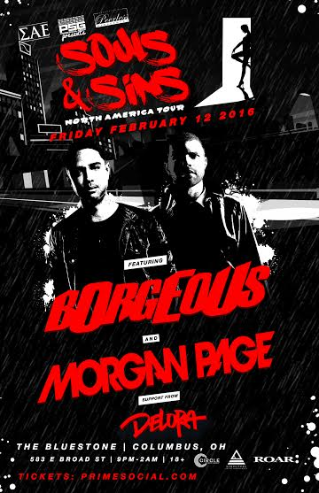 PSG, Peerless Mgt and SAE Fraternity Present: Borgeous x Morgan Page