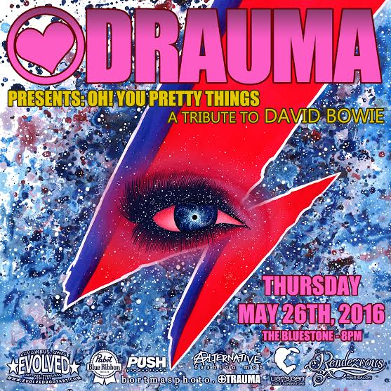 DRAUMA presents: Oh! You Pretty Things  *  A tribute to David Bowie