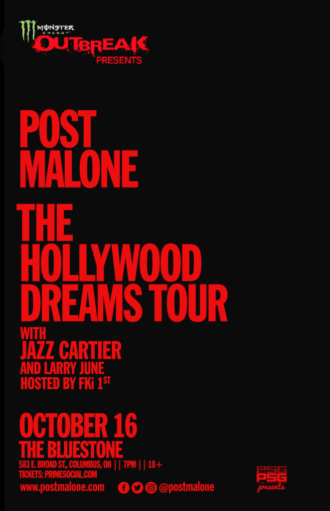 Prime Social Group Presents: POST MALONE