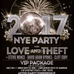 Love and Theft New Years Eve 2017 The Bluestone - Columbus Ohio