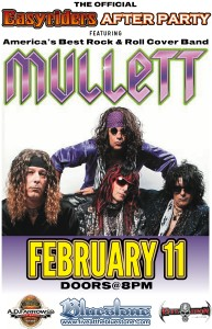 Annual Easyrider After-Party ft.  MULLETT ROCKS - An 80's Tribute Band @ The Bluestone | Columbus | Ohio | United States
