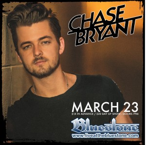 Chase Bryant live March 23 @ The Bluestone | Columbus | Ohio | United States
