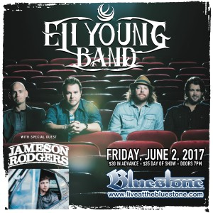 Eli Young Band Live June 2, 2017 @ The Bluestone | Columbus | Ohio | United States