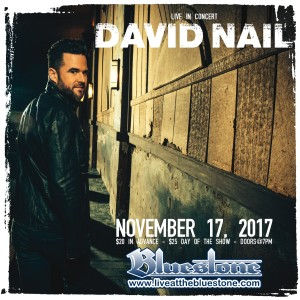 David Nail LIVE Nov. 17 @ The Bluestone | Columbus | Ohio | United States