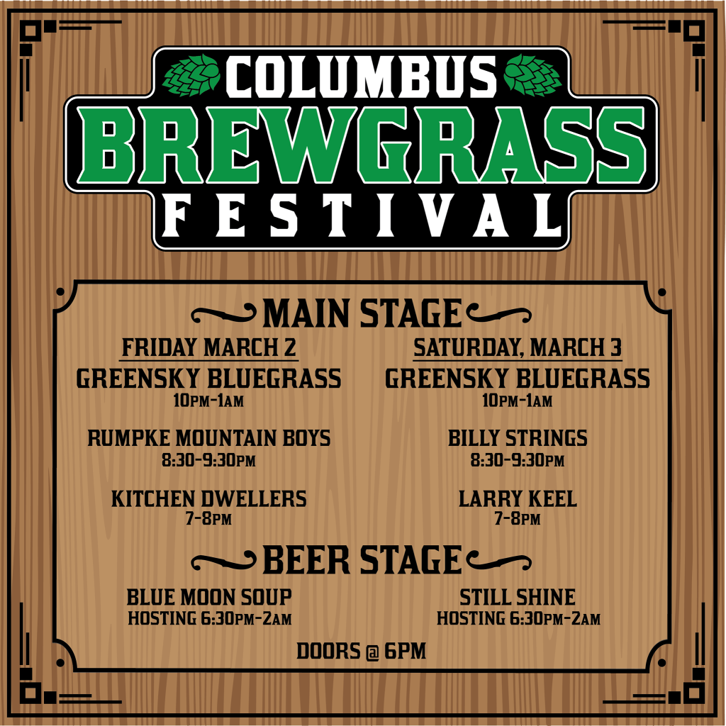 Columbus Brewgrass Festival at The Bluestone @ The Bluestone | Columbus | Ohio | United States