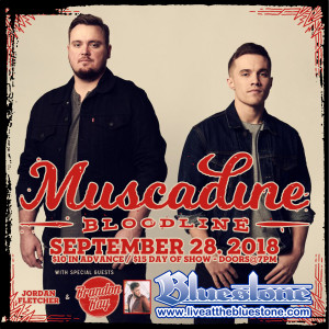 Muscadine Bloodline LIVE September, 28th @ The Bluestone | Columbus | Ohio | United States