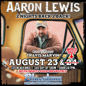 SOLD OUT!! Aaron Lewis LIVE August, 24th @ The Bluestone | Columbus | Ohio | United States