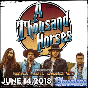 A Thousand Horses LIVE June, 14th @ The Bluestone  | Columbus | Ohio | United States
