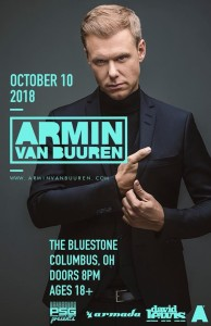 Armin Van Buuren LIVE October, 10th @ The Bluestone | Columbus | Ohio | United States