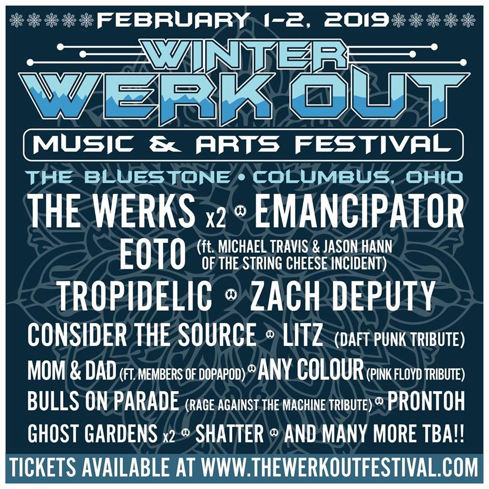 Winter Werk Out Music and Arts Two Day Festival @ The Bluestone  | Columbus | Ohio | United States