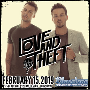 Love and Theft LIVE February 15th 2019 @ The Bluestone | Columbus | Ohio | United States