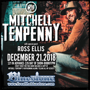 Mitchell Tenpenny LIVE @ The Bluestone | Columbus | Ohio | United States