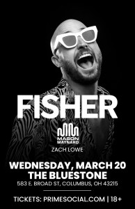 PSG Presents: Fisher LIVE @ The Bluestone