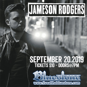 Jameson Rodgers LIVE September 20th @ The Bluestone
