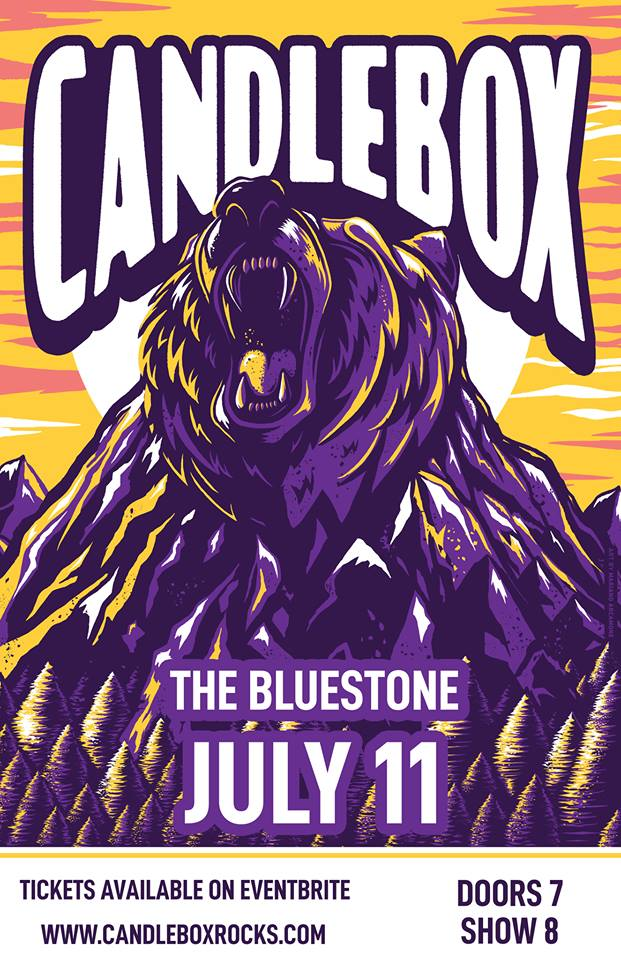 Prime Social Group presents: CANDLEBOX live @ The Bluestone